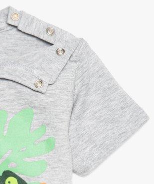 Tee-shirt bébé garçon à motifs - SmileyWorld vue3 - SMILEY - GEMO