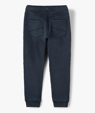 Pantalon garçon multipoches avec taille élastiquée vue5 - GEMO (ENFANT) - GEMO