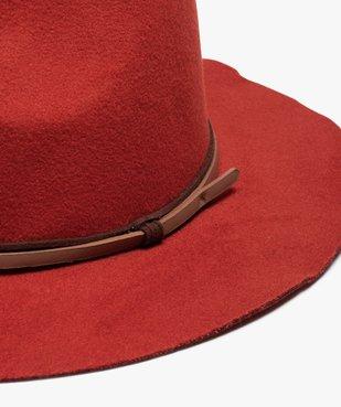 Chapeau femme en feutrine avec double lien vue2 - GEMO (ACCESS) - GEMO