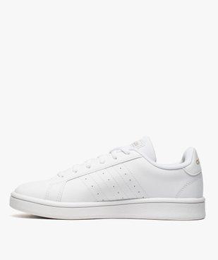 Baskets femme détails métallisés – Adidas Grand Court Base vue3 - ADIDAS - Nikesneakers