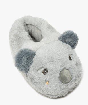 Chaussons femme 3D en forme de koala vue5 - GEMO(HOMWR FEM) - GEMO
