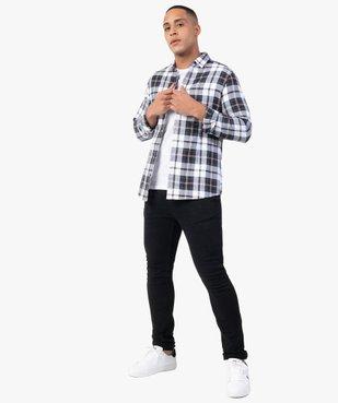 Chemise homme à carreaux coupe slim vue5 - GEMO (HOMME) - GEMO