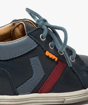 Chaussures premiers pas bébé garçon à lacets - Bopy vue6 - BOPY - GEMO
