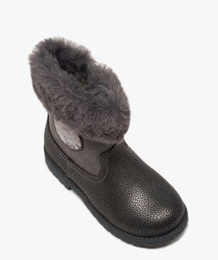 Boots fille zippés à col rembourré – La Reine des Neige vue5 - REINE DES NEIGE - GEMO