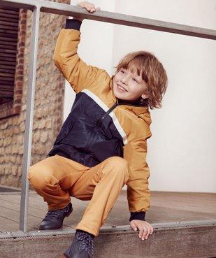 Blouson garçon déperlant à capuche vue5 - Nikesneakers (ENFANT) - Nikesneakers