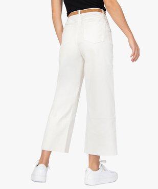 Pantalon femme coupe ample avec ceinture amovible vue3 - GEMO(FEMME PAP) - GEMO