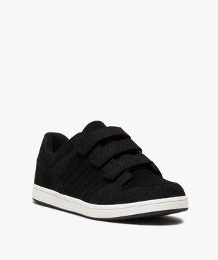 Baskets homme style skateshoes fermeture scratchs vue2 - GEMO (HOMME) - GEMO