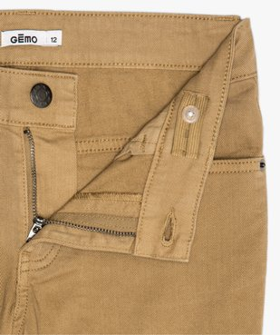 Pantalon garçon style jean slim 5 poches vue3 - Nikesneakers (JUNIOR) - Nikesneakers