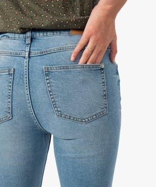 Jean femme coupe Bootcut taille haute vue2 - GEMO(FEMME PAP) - GEMO