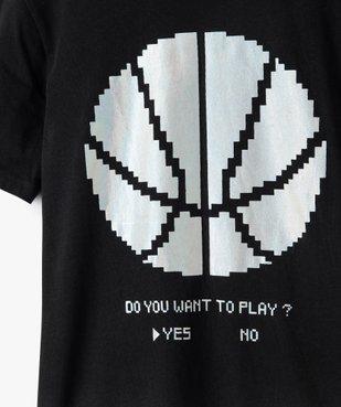 Tee-shirt garçon à manches courtes imprimé vue2 - GEMO (JUNIOR) - GEMO