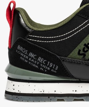 Baskets homme multi-matières – Schott NYC Kurt vue6 - SCHOTT - Nikesneakers
