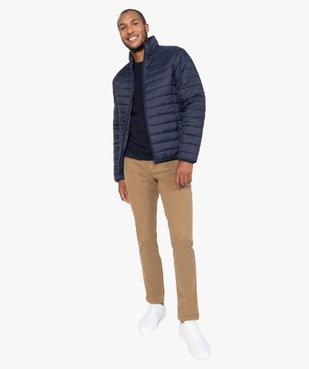 Pantalon chino homme en coton stretch vue5 - Nikesneakers (HOMME) - Nikesneakers