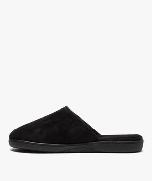Chaussons homme mules à surpiqûres contrastantes vue3 - Nikesneakers(HOMWR HOM) - Nikesneakers