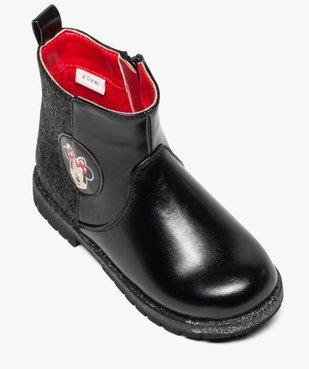 Boots pailletées avec motif Minnie - Disney vue5 - MINNIE - GEMO