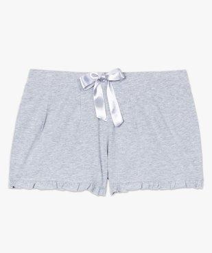 Short de pyjama femme imprimé à petits volants dans le bas vue4 - Nikesneakers(HOMWR FEM) - Nikesneakers