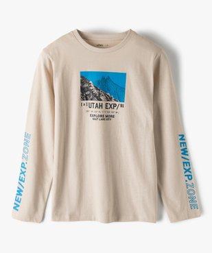Tee-shirt garçon à manches longues imprimé vue2 - Nikesneakers (JUNIOR) - Nikesneakers