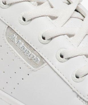 Tennis femme à lacets et détails contrastants - Kappa vue6 - KAPPA - Nikesneakers