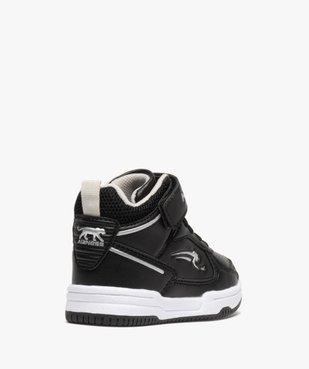 Baskets bébé semi-montantes à scratch - Airness Vito vue4 - AIRNESS - Nikesneakers