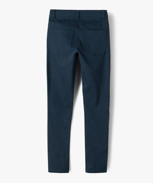 Pantalon garçon coupe skinny en toile extensible vue4 - Nikesneakers (JUNIOR) - Nikesneakers