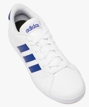 Basket basse garçon bicolore - Adidas Baseline vue5 - ADIDAS - GEMO