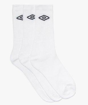 Chaussettes homme spécial sport (lot de 3) - Umbro vue1 - UMBRO - GEMO