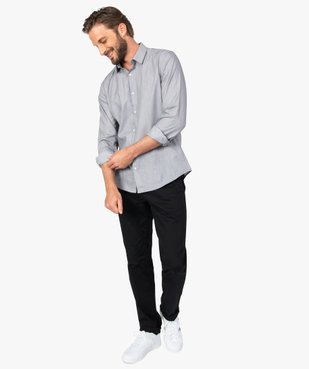Pantalon homme chino coupe slim vue5 - GEMO (HOMME) - GEMO