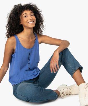 Débardeur femme avec message  vue5 - Nikesneakers(FEMME PAP) - Nikesneakers