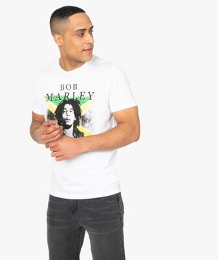 Tee-shirt homme avec motif Bob Marley - Zion vue1 - BOB MARLEY - GEMO