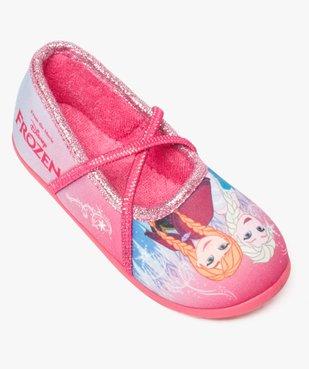 Chaussons fille avec motifs et paillettes La Reine des neiges - Disney vue5 - REINE DES NEIGE - GEMO