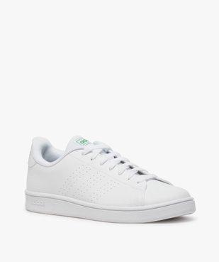 Tennis homme unies à lacets – Adidas Advantage vue2 - ADIDAS - Nikesneakers