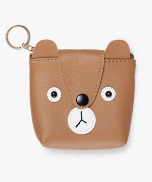 Porte-monnaie enfant ours avec anneau porte-clés vue1 - Nikesneakers (ENFANT) - Nikesneakers