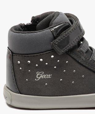 Baskets bébé fille à lacets et scratch - Geox vue6 - GEOX - GEMO