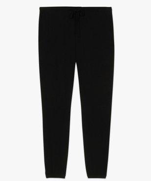 Pantalon de pyjama femme resserré dans le bas  vue4 - GEMO(HOMWR FEM) - GEMO