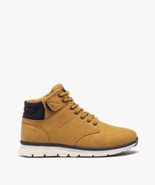 Boots garçon à col rembourré et lacets bicolores vue1 - Nikesneakers (ENFANT) - Nikesneakers