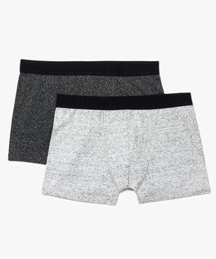 Boxers homme assortis contenant du coton bio (lot de 2) - Grande Taille vue1 - Nikesneakers (G TAILLE) - Nikesneakers
