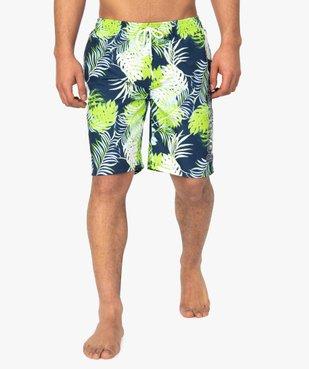 Short de bain homme motif tropical - Roadsign vue1 - ROADSIGN - GEMO