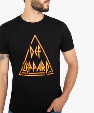 Tee-shirt homme à manches courtes imprimé - Def Leppard vue2 - DEF LEPPARD - GEMO
