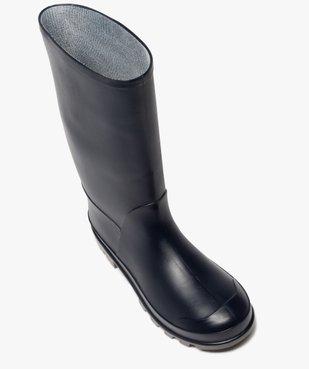 Bottes de pluie femme unies à semelle crantée vue5 - GEMO (EQUIPT) - GEMO