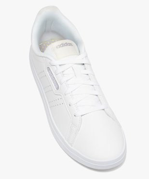 Baskets femme unies à lacets – Adidas Courtpoint Base vue5 - ADIDAS - Nikesneakers