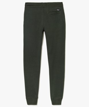 Pantalon de jogging molletonné garçon Kwell vue2 - KWELL - GEMO