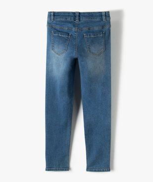 Jean fille coupe Slim taille+large en matière extensible vue3 - Nikesneakers (ENFANT) - Nikesneakers