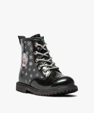 Boots fille pailletés à semelle crantée – Reine des Neiges vue2 - REINE DES NEIGE - GEMO
