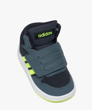 Baskets bébé garçon semi-montantes – Adidas Hoops Mid vue5 - ADIDAS - GEMO