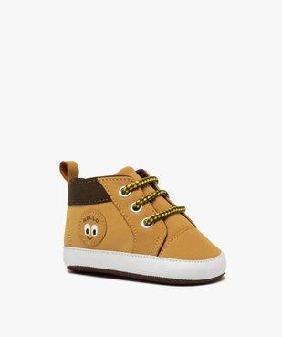 Chaussons de naissance bébé garçon style boots à lacets vue2 - Nikesneakers C4G BEBE - Nikesneakers