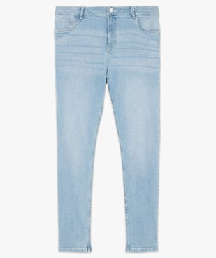 Jean femme straight stretch à taille réglable vue4 - GEMO (G TAILLE) - GEMO