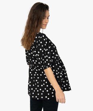 Tee-shirt de grossesse imprimé avec col en V vue3 - Nikesneakers (MATER) - Nikesneakers