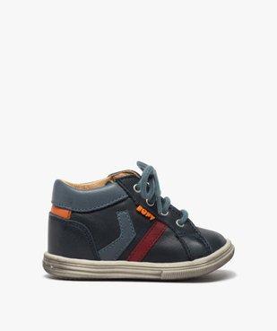 Chaussures premiers pas bébé garçon à lacets - Bopy vue1 - BOPY - GEMO