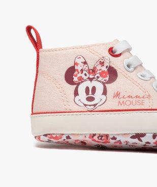 Tennis de naissance bébé fille en toile Minnie Mouse  vue6 - MINNIE - Nikesneakers