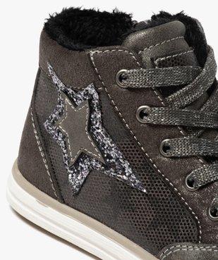 Baskets fille semi-montantes avec étoile pailletée vue6 - Nikesneakers (ENFANT) - Nikesneakers