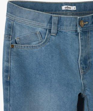Jean garçon coupe regular taille ajustable vue2 - Nikesneakers (JUNIOR) - Nikesneakers